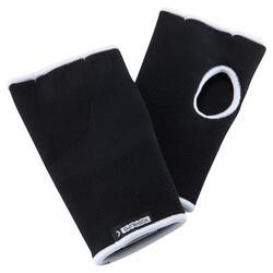 拳擊內層手套 100 - 黑色