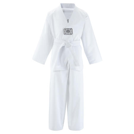 100 Kids Taekwondo Dobok Uniform - White