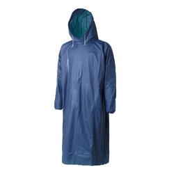 POCKET PONCHO - WATERPROOF FISHING PONCHO - DARK BLUE