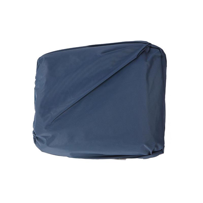 PONCHO POCKET WATERPROOF FISHING PONCHO - DARK BLUE
