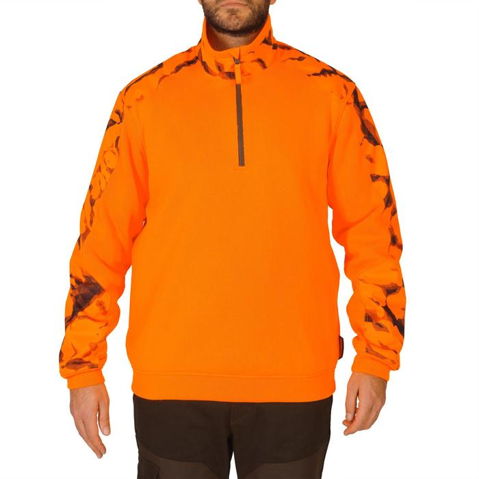 Pull chasse renfort 500 fluo - 1142111