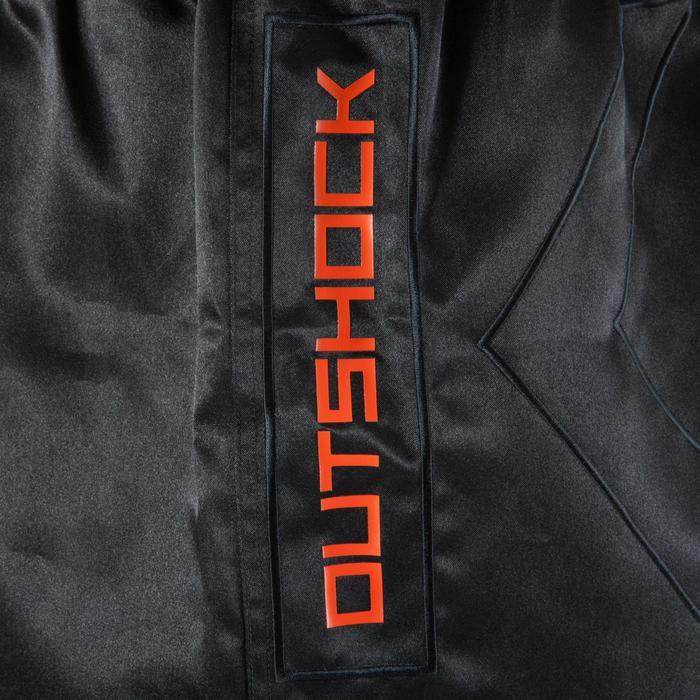 Short kickboksen 500 voor training en wedstrijden zwart