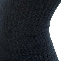 Knöchelsocken Bandage Kampfsport 100 schwarz.