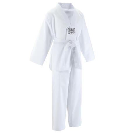 d6705556396 Kimono/Dobok taekwondo 100 voor kinderen wit | Domyos by Decathlon