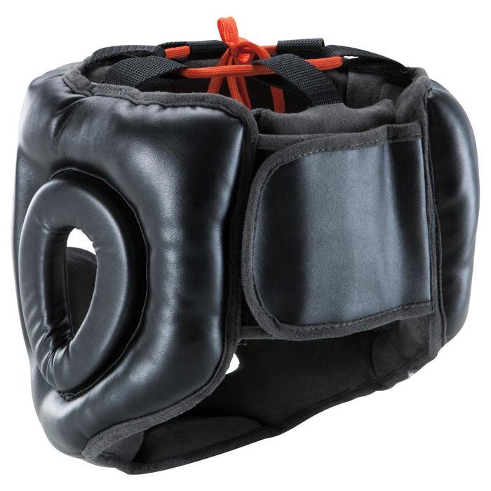 Integrale hoofdbeschermer 500 volwassenen voor training zwart