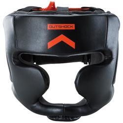 Kopfschutz 500 Erwachsene schwarz