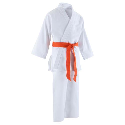 kimono judo enfant 500 aikido blanc