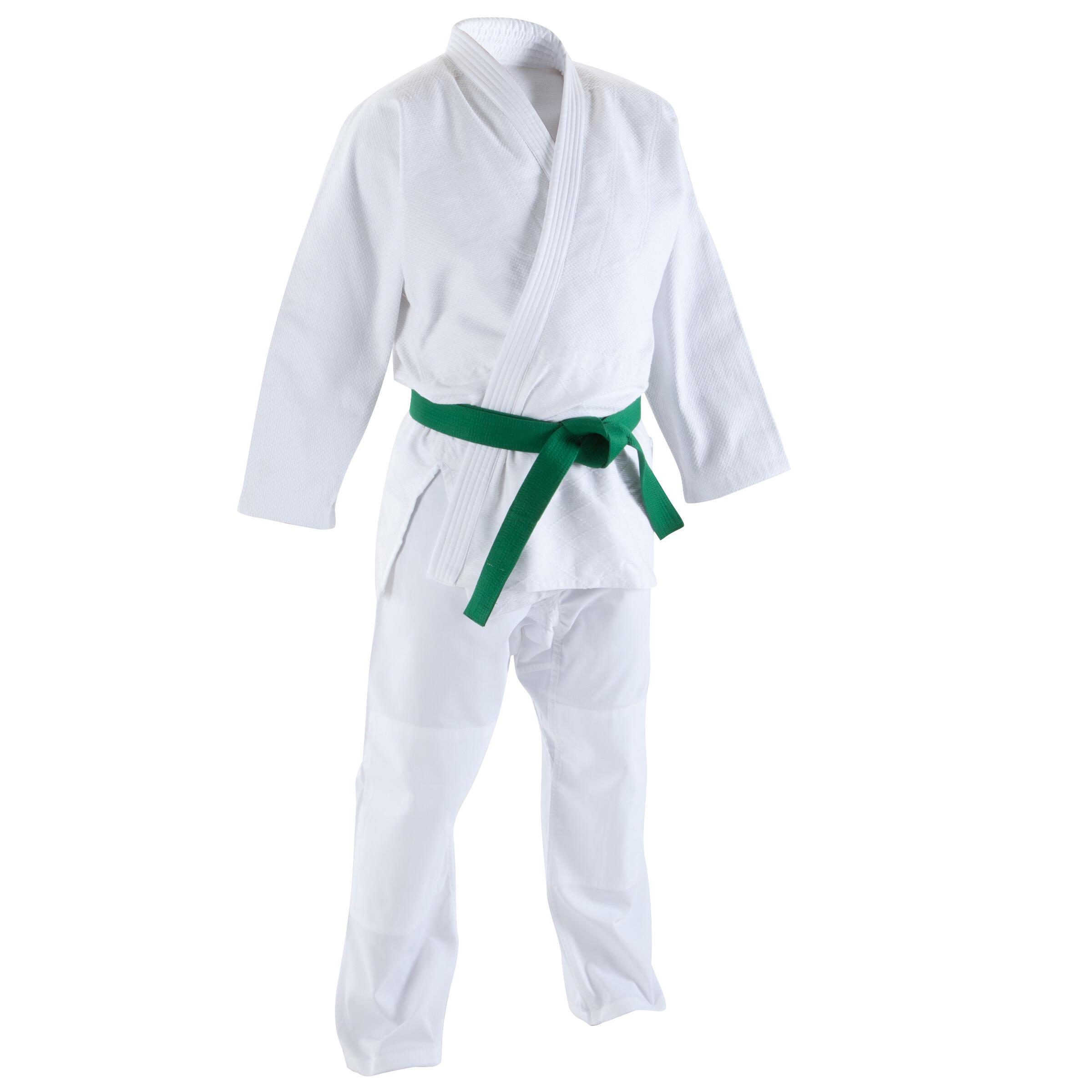 Judoanzug 440 Erwachsene | Sportbekleidung > Sportanzüge > Judoanzüge | Weiß | Polyester - Baumwolle | Domyos