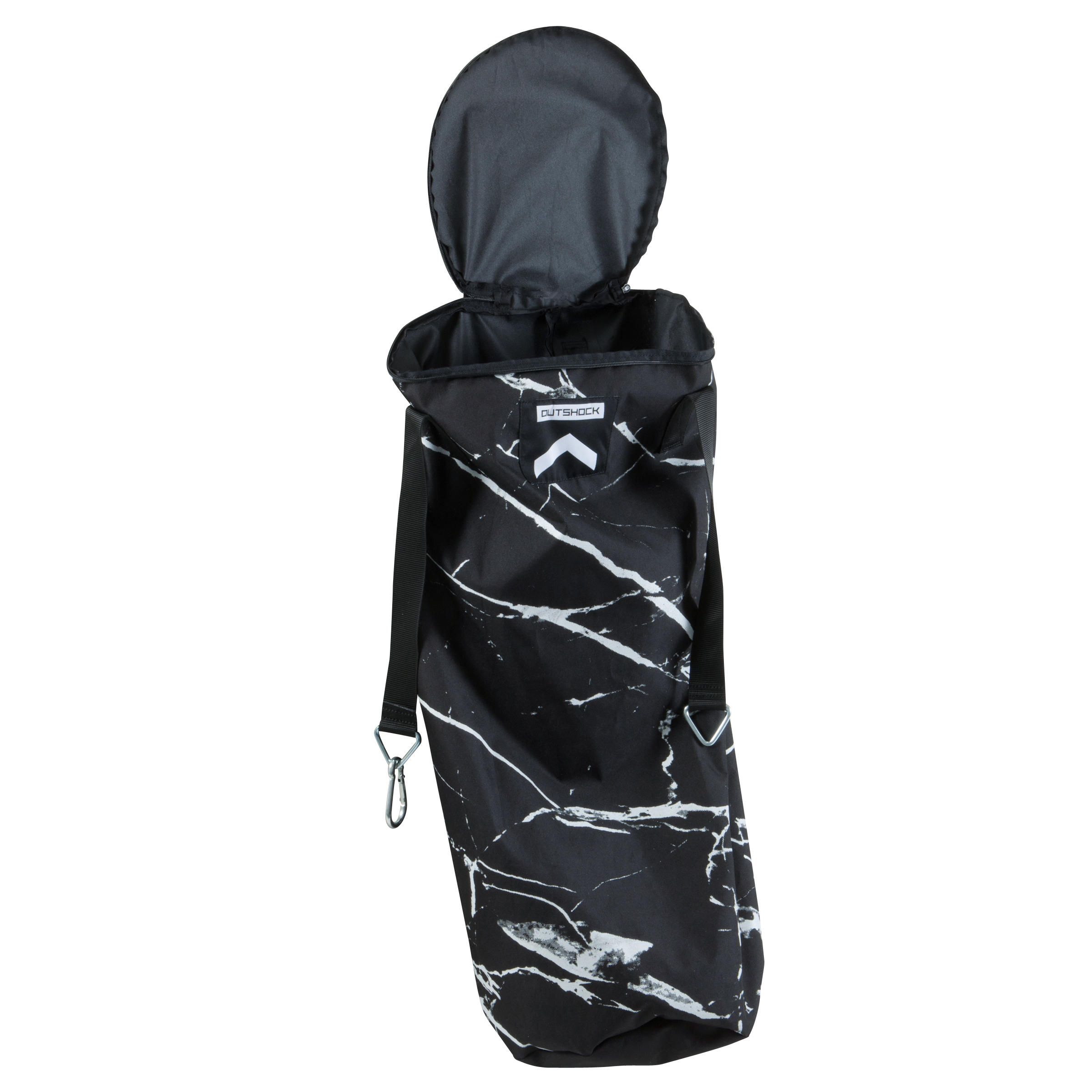 850 Empty Punch Bag - Marble Black White