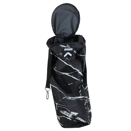 Bokszak 850 zonder vulling zwart/wit gemarmerd - 1142259