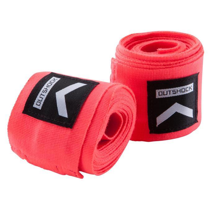 Boxing Wraps 100 2,5 m - Pink
