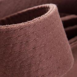 Martial Arts Piqué Belt 2.80m - Brown