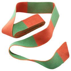 Cintura judo 2.50m bicolore arancio-verde