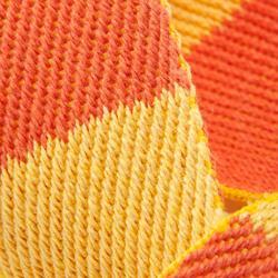 Tweekleurige judoband 2,50 m geel/oranje