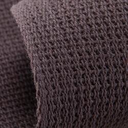 Band in gladde stof voor martial arts 2,5 m effen bruin