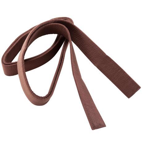 martial arts piqu 233 belt 3m brown domyos by decathlon