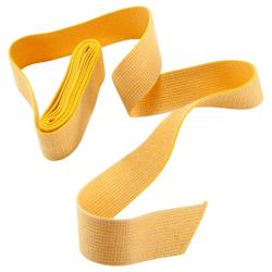 CEINTURE ARTS MARTIAUX SANGLE UNIE 2.5 M JAUNE