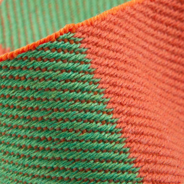 Tweekleurige judoband 2,50 m oranje/groen