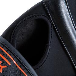 Box-Halbhandschuhe Gel 500 schwarz/orange