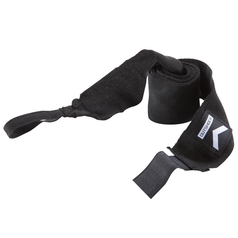 100 Boxing Wraps 2.5 m - Black