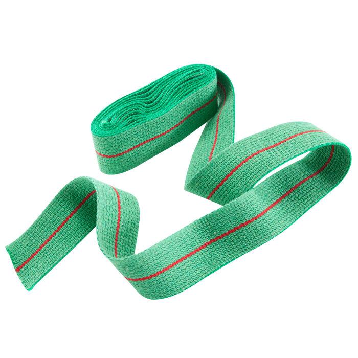 Kampfsportgürtel 2,50m grün