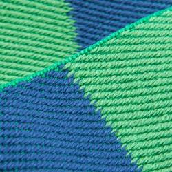 Judogürtel 2,5m grün/blau