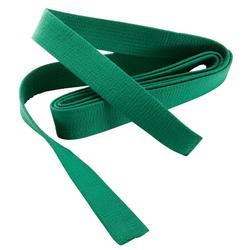 Judoband / Karateband piqué 2,80 m, groen