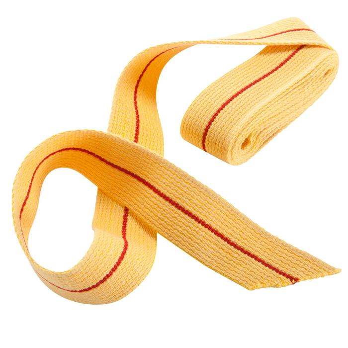 Karateband 2,50 m geel