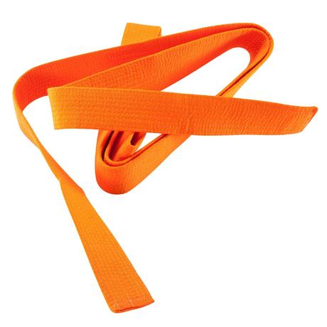 9e5ed1f3ec37 CEINTURE ARTS MARTIAUX PIQUÉE 2.80M ORANGE   Domyos by Decathlon