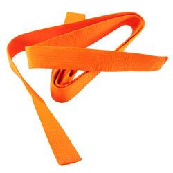 Band voor martial arts piqué 2,8 meter oranje