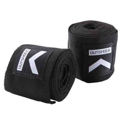 100 Boxing Wraps 2.5m - Black