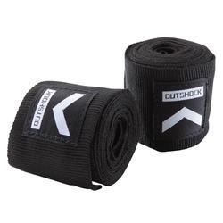 100 Boxing Wraps 2.5 m - Black