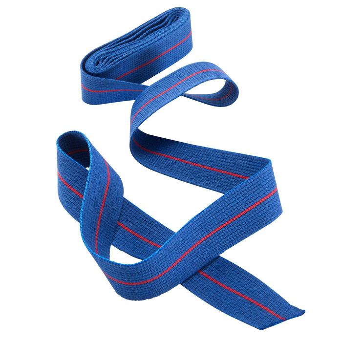 Karateband 2,50 m blauw