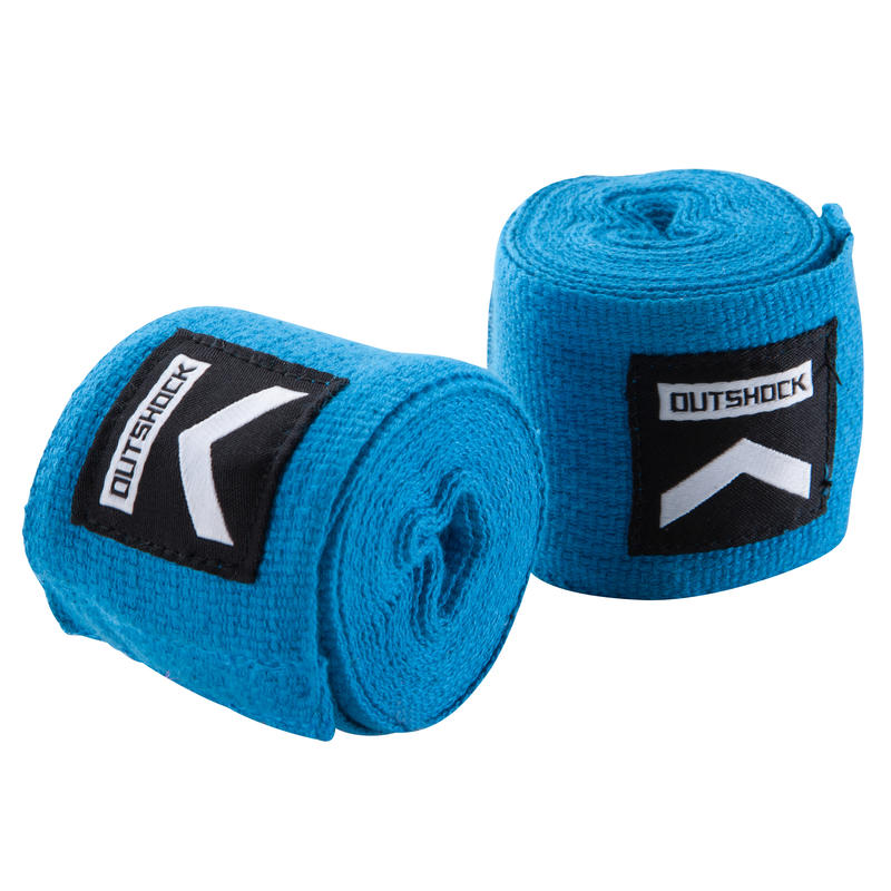 500 Boxing Wraps 3.5 m - Blue