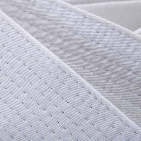 Martial Arts Piqué Belt 2.80m - White