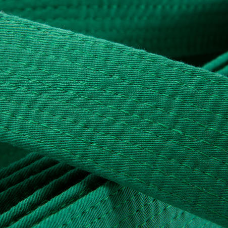 Martial Arts Piqué Belt 2.80 m - Green