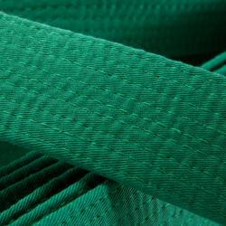 Band voor martial arts piqué 2,8 meter groen