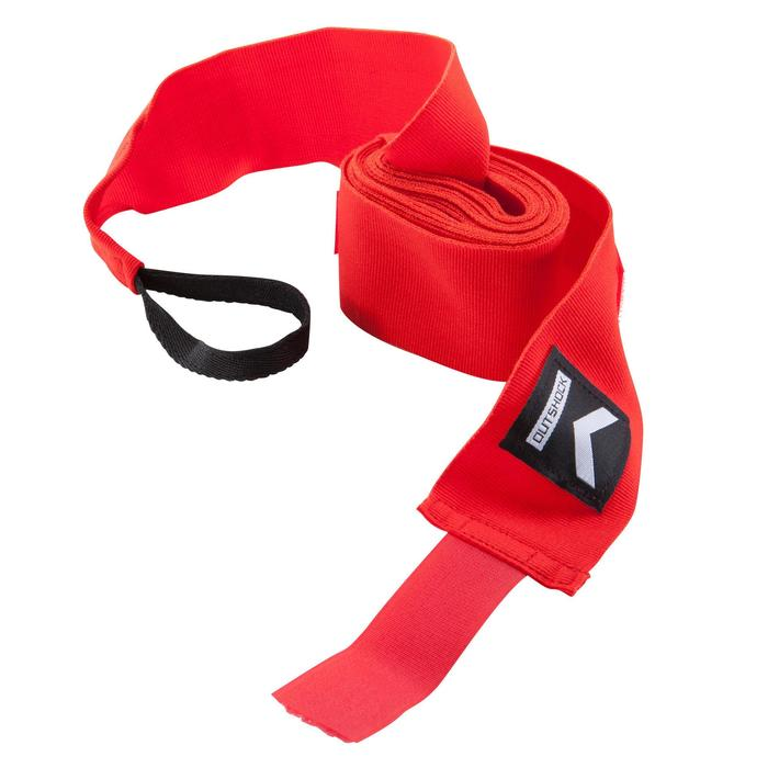 100 Boxing Wraps 2.5 m - Red