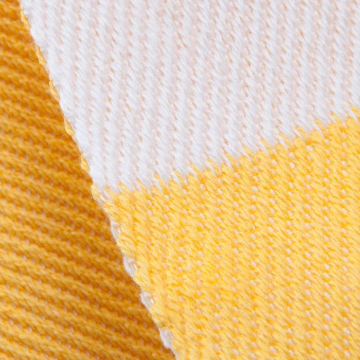 Tweekleurige judoband 2,50 m wit/geel