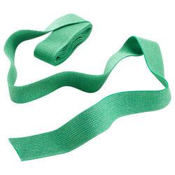 Band voor martial arts 2,5 meter gladde stof groen