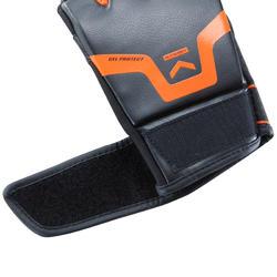 500 Gel Boxing Training Gloves - Black/Orange