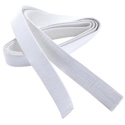 Martial Arts Piqué Belt 2.80m - White