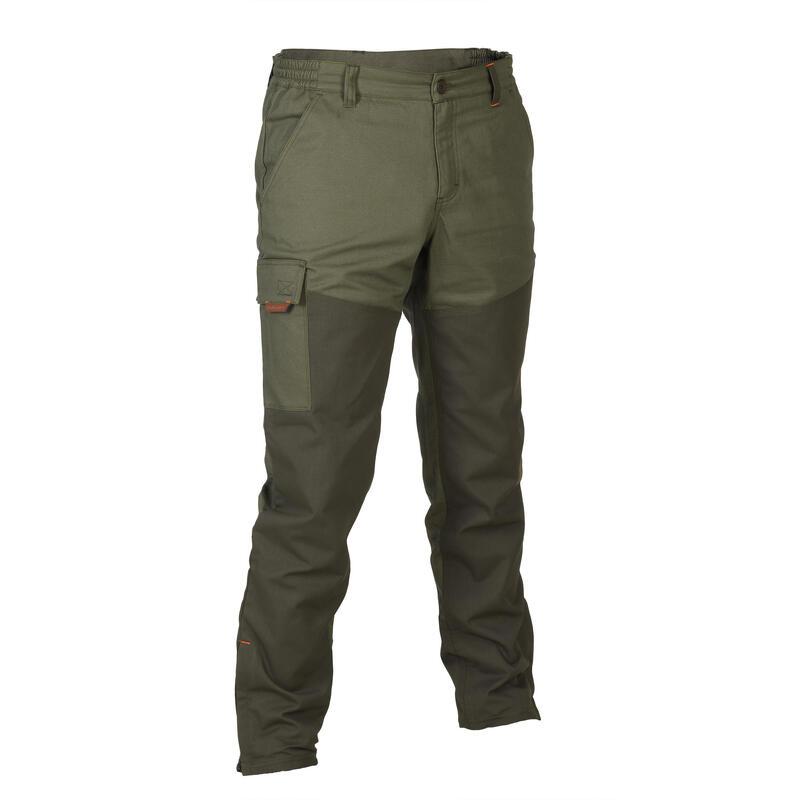 Pantaloni caccia RENFORT 100 verdi