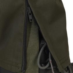 Verstevigde broek voor de jacht 100 groen