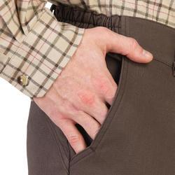 Pantalon chasse 520 marron