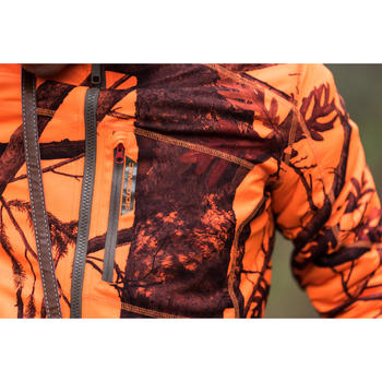 Veste chasse 900 camouflage fluo - 1142480