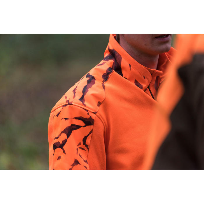 Pull chasse renfort 500 fluo - 1142491