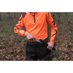 T-SHIRT SUPERTRACK MANCHES LONGUES FLUO