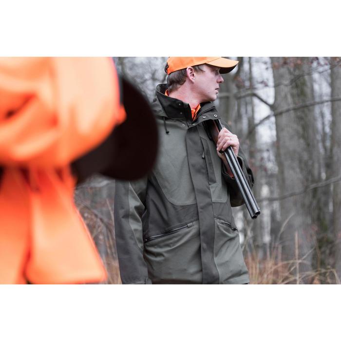 Veste chasse Supertrack 300 imperméable vert - 1142494