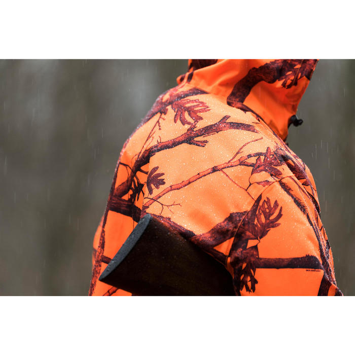 Poncho chasse camouflage fluo - 1142495